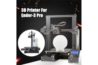 Creality 3D Ender-3 Pro Prusa I3 DIY 3D Printer 220x220x250mm Printing Size With Magnetic Removable Platform Sticker/Power Resume Function/Off-line Print/Patent MK10 Extruder/Simple Leveling(3D Printer)