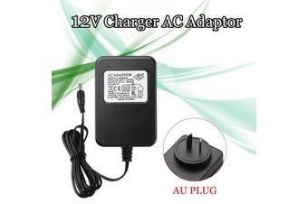 12V 1000mA Battery Charger AC Adapter AU Charger For Kids Electric Ride On Car Bike Scooter