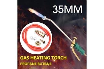 Hose Propane Weed Burner Torch Weed Killer Gas Piezo Tube 2 Switch