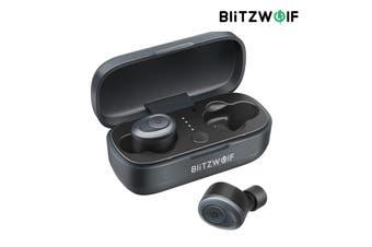Original Blitzwolf BW-FYE4 TWS Stereo HiFi Sound True Wireless bluetooth 5.0 Earphone Mini Headphones With Charging Case