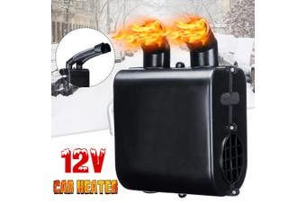 12V Auto Car Heater Water Heating Defroster Double Air Vents Energy Saving Windscreen Window Demister