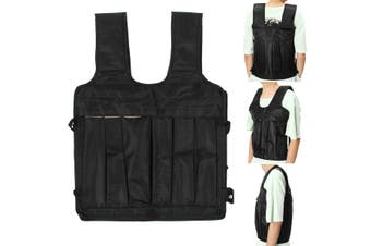 Max 50KG Loading Adjustable Workout Weight Weighted Vest Exercise Training Fitne