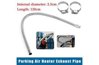 Stainless Steel Exhaust Pipe For Car Parking Air Heater Tank Diesel Gas Vent Hose
