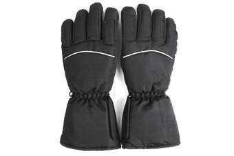 Battery Electric Heated Gloves Winter Warm Hand Waterproof Used For Touch Screen
