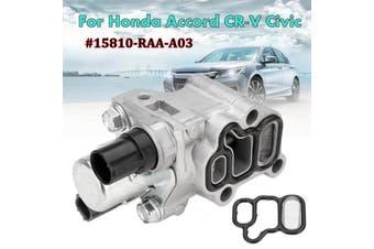 Element Spool Valve Solenoid VTEC w/ Gasket For Honda CRV Accord 15810-RAA-A03
