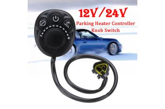 12V/24V Parking Heater Controller Knob Switch For Truck Track Air Diesel Heater
