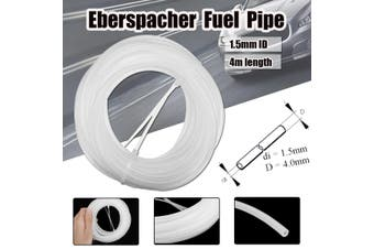 4M Plastic Fuel Tube Pipe ID1.5mm Air Water For Eberspacher Petrol Diesel Heater