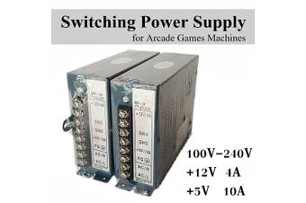 Universal Input 100V-240V Output 12V +5V 10A Switch Power Supply Jamma Arcade For Jamma Multicade Cabinet