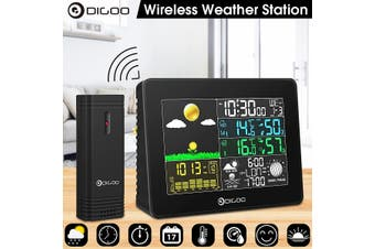 Digoo DG-TH8868 Wireless Full-Color Screen Digital USB Outdoor Barometric Pressure Weather Station Hygrometer Thermometer Forecast Sensor Clock