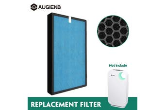 Replacement True HEPA Activated Carbon Filter ForAUGIENB Model 802 Air Purifier