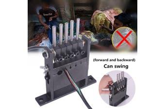 AU Hand-pull Operation Wire Stripping Machine Stripper 5 Holders Diameter 1-30mm wire stripping machine