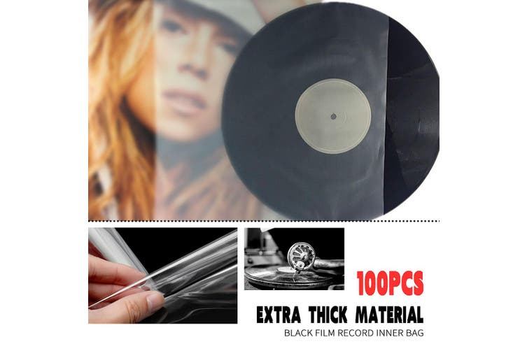"""Outer vinyl record plastic cover sleeves 12inch"""" LP - 100 pieces"""