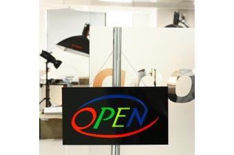 OPEN LED Neon Sign Bar Shop Display Studio Window Hanging Light Visual Artworks
