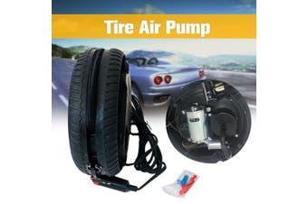 Inflatable Pump Tire Compressor Inflator Air Pump Portable Filler Car Motorcycle Cigarette Plug