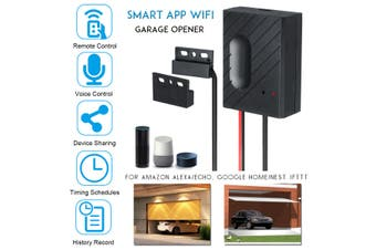 GD-DC5 WiFi Smart Switch Garage Door Opener Controller App for iPhone Android(For eWeLink APP)