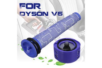 For Dyson V6 Absolute Total Clean Cordless Pre + Post Motor HEPA Filter Kit