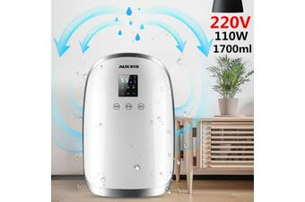 1700ml 220V Portable Bedroom Basement Air Dryer Mini Moisture Home Dehumidifier Home Dehumidifier(220V)
