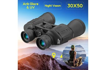 30x50 Military Army Zoom Binoculars HD Hunting Camping Night Vision Telescope