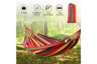 Two 2 Person Travel Camping Hanging Hammock Lightweight Outdoor Double Bed Tent