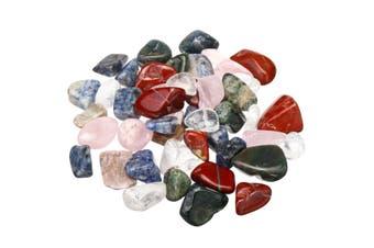 1000g Quartz Crystal Bulk Natural Mixed Gemstones Healing Tumbled Stone