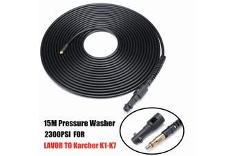 15M 50FT Pressure Washer Sewer Drain Cleaning Hose For Karcher K2 K3 K4 K5 K6 K7