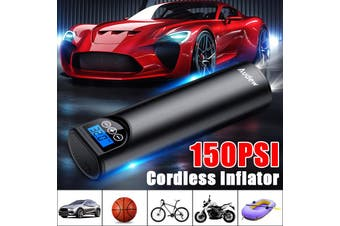 AUDEW 12V 150PSI Digital Tyre Inflator Cordless Portable Handheld LCD Air Compressor Automatic Pump Air Pump