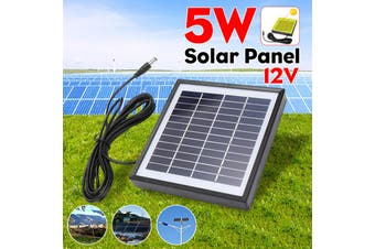 5W 12V Solar Panel With 3m Cable Solar Energy Solar Power Panel Polysilicon