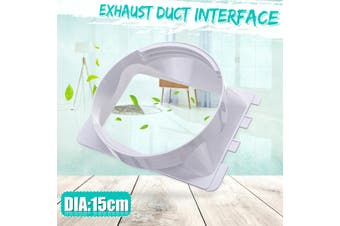 Diameter 15cm/5.9'' Exhaust Duct Interface for Portable Air Conditioning Body(Type A)
