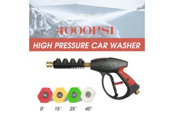High Pressure Power Washer Tool Water 4000 PSI 4-color Nozzles tips Best Choice
