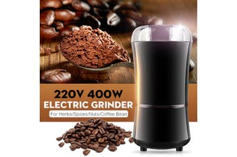 220V 400W Herbs/Spices/Nuts/Coffee Bean Grinder Grind Manual Machine