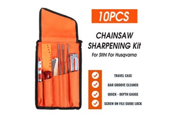 10x Chainsaw Sharpening File for Stihl Filing Kit Files Tool Chain Sharpen Optimal