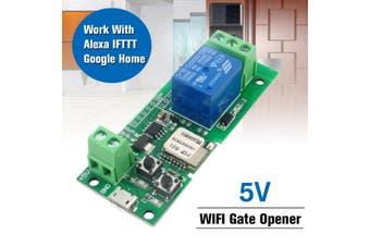 WiFi Remote Garage Door Opener Controller Work with Alexa & IFTTT Google home