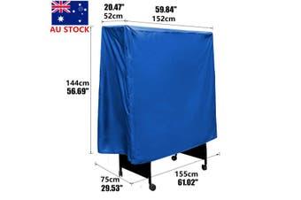 Table Tennis Cover Waterproof Dustproof Folding Tennis Table Storage Sheet