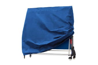 Table Tennis Table Protect Cover Indoor/Outdoor Waterproof Tennis Table Sheet Blue