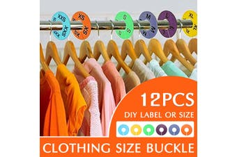 Round Size Dividers Multicolors Clothing Blank Rack Hangers Ring Clothes Stores