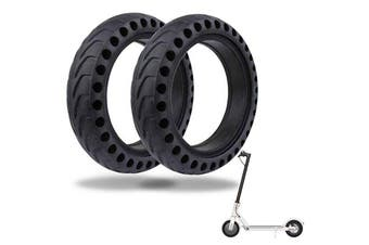 21cm Solid Rubber Rear Tire With Hollow Design For Xiaomi M365 Electric Scooter Skate Accessories