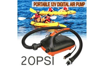 20PSI HighPressure Electric Air Pump Intelligent for Inflatable SUP Paddle Board(20 PSI)