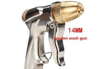 14MM High Pressure Portable Garden Hose Nozzle Wash Tool Pump kit Car Cleaning Sprayer Sprinkler