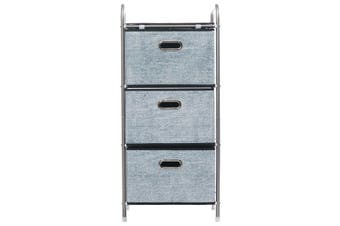 4 Layer 3 Drawer Non-woven Fabric Multi-function Storage Cabinet Organizer Shelf