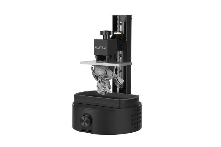 110mm×61.8m Sparkmaker Upgraded FHD Light-Curing Desktop UV Resin SLA 3D Printer