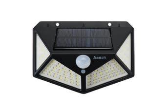 1PCS 100LED Solar Light PIR Motion Sensor Light Outdoor Garden Security Wall Lights