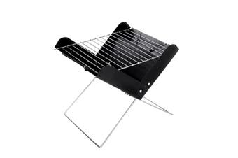 Portable Charcoal BBQ Grill Outdoor Camping Picnic Barbecue Cooking Folding Too