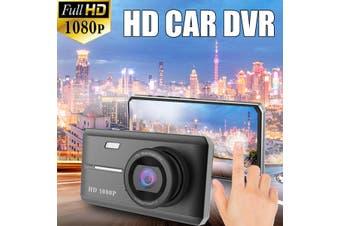 "Camera Dashboard DVR Recorder 4.5"" 1080P Dual Lens Car Dash Cam Front and Rear"