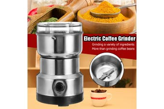 Electric Coffee Grinder Maker Grinding Milling Bean Spice Salt Pepper Herbs Nuts Spices Mill Grinder Blender Tool