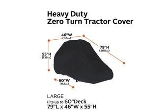 Accessories RainProof Heavy-Duty Zeroo Turn Mower Cover Large Protector