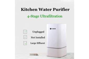 4 Stage Countertop RO Water Filter System with Faucet Valve Water Pipe Home Kitchen Water Purifier Water Filters System