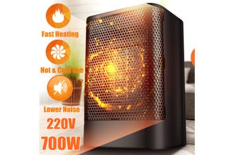 700W 220V Portable PTC Ceramic Hot & Cold Heater Air Fan Mini Heater Home Office