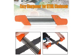 2 in 1 Easy Chainsaw Chain Sharpener File 3/8p 4.0 mm for STIHL 56057504303