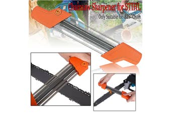 2 IN 1 Easy Chainsaw Chain File Sharpener .325'' 4.8mm Replacement For Stihl
