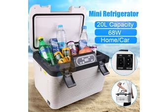Portable 68W 19L Electric Refrigerator 5Layers Cooler Warmer Home Travel Camping Food Mini Fridge Freezer For Car/Boat/Self-Driving/Camping/Outdoor DC12-24V